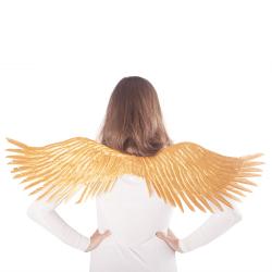 Obrázek křídla andělská zlatá