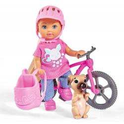Obrázek Panenka Evička s bicyklem