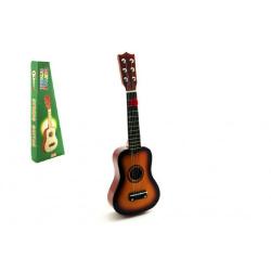 Obrázek Kytara plast s motivem dřevo 53cm