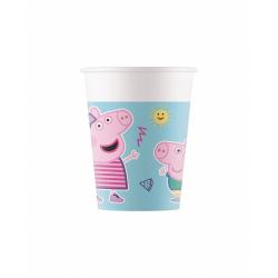Obrázek Kelímky 200 ml Peppa Pig 8 ks ECO - rozložitelné