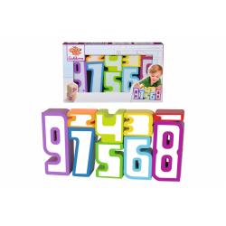 Obrázek Dřevěné číslice