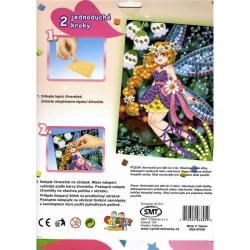 Obrázek Mozaikový obrázek - Květinová víla