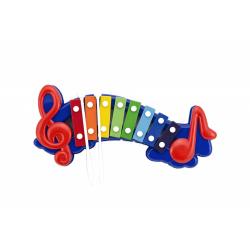 Obrázek Xylofon plast/kov 32cm