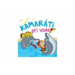 Obrázek Knižka mäkká Kamaráti pri vode 20x15cm v sáčku SK verzia