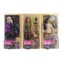 Obrázek Barbie Povolání National Gegraphic panenka - 3 druhy