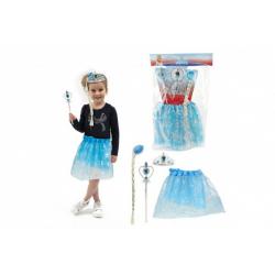 Obrázek Kostým/sukně princezna Ledové království s doplňky v sáčku karneval
