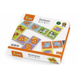 Obrázek Dřevěné domino - divoká zvířata