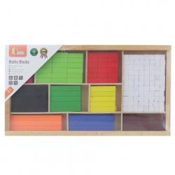 Obrázek Dřevěné matematické kostky