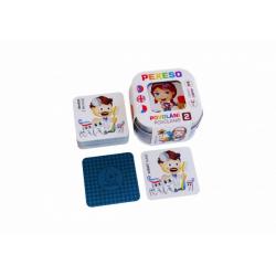 Obrázek Pexeso Povolání 2, 64 karet v plechové krabičce 6x6x4cm Hmaťák