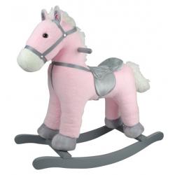 Obrázek Houpací poník růžový 46 cm