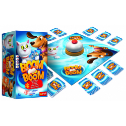 Obrázek Společenská hra Boom Bomm - Psi a kočky
