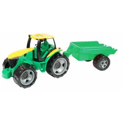 Obrázek Traktor plast bez lyžice a bagra s vozíkom