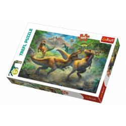 Obrázek Puzzle Dinosauři/Tyranosaurus 41x27,5cm 160 dílků