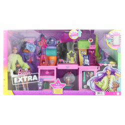 Obrázek Barbie Extra šatník s panenkou - herní set TV 1.10.-31.12.2021