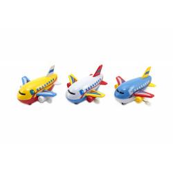 Obrázek Letadlo na klíček plast 10cm - mix barev