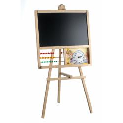 Obrázek Tabule stojanová s počítadlem dřevo 45x89cm