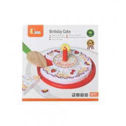 Obrázek Dřevěné krájení - narozeninový dort