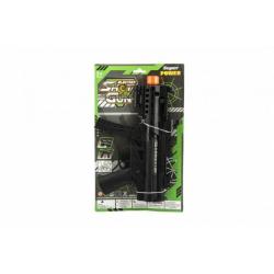 Obrázek Pištoľ samopal plast 29cm na batérie so svetlom so zvukom na karte
