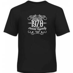 Obrázek ALBI Pánské humorné tričko - 1978, vel. L
