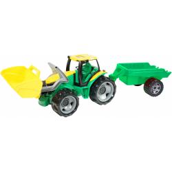 Obrázek Traktor se lžící 60cm a přívěsem 45cm plast