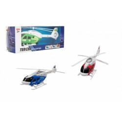 Obrázek Vrtulník/Helikoptéra na natažení plast 21cm 3 barvy v krabičce 24x9x7cm