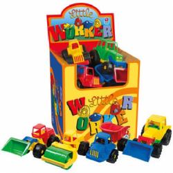 Obrázek Stavební auto na písek barevné