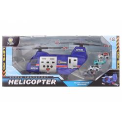Obrázek Transportní helikoptéra s auty