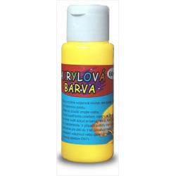 Obrázek Akrylová barva 60ml- žlutá