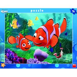 Obrázek Puzzle Puzzle 40 dílků Nemo