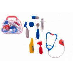 Obrázek Sada doktor/lékař plast v plastovém kufříku 23x19x6cm v sáčku