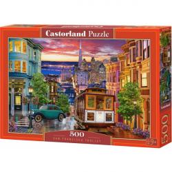 Obrázek Puzzle Castorland 500 dílků - Tramvaj v San Franciscu