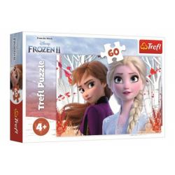 Obrázek Puzzle Ledové království II/Frozen II 60 dílků 33x22cm v krabici 21x14x4cm