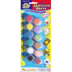 Obrázek Akrylové barvy 12ks