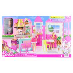 Obrázek Barbie Restaurace s panenkou herní set HBB91 TV