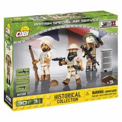 Obrázek Cobi 2036  3 figurky s doplňky British Special Air Service SAS