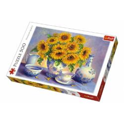 Obrázek Puzzle Slunečnice malované 500 dílků 48x34cm