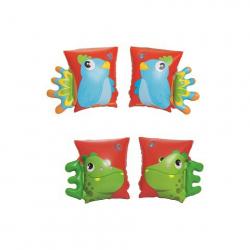 Obrázek BESTWAY Nafukovací rukávky papoušek/dinosaurus