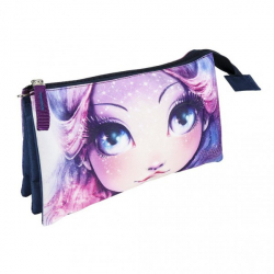 Obrázek Penál na zip Nebulous fialový