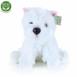 Obrázek Plyšový pes westík sedící 30 cm ECO-FRIENDLY