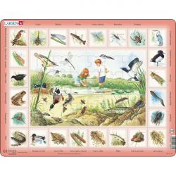 Obrázek Puzzle Život u rybníka 48 dílků