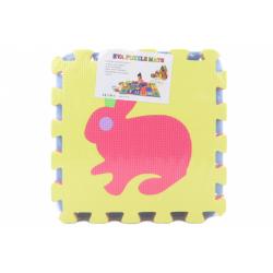Obrázek Pěnové puzzle 9 dílků - zvířátka