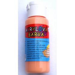 Obrázek Akrylová barva 60ml - světle oranžová (pale orange)