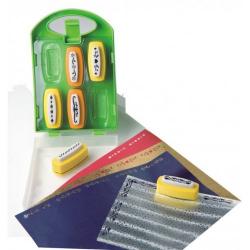 Obrázek Dierovačky bordúry 6ks v praktickom plastovom kufríku