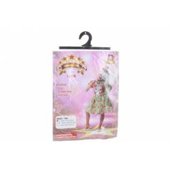 Obrázek Šaty na karneval - klaun dívka, 110 - 120 cm
