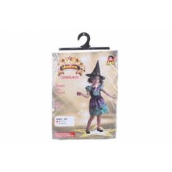 Obrázek Šaty na karneval - duhová čarodějnice 80 - 92 cm