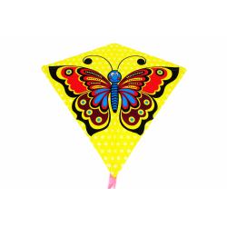Obrázek Drak létající motýl plast 68x73cm