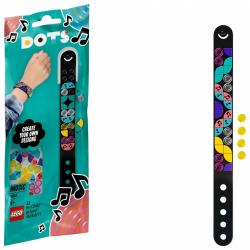 Obrázek LEGO<sup><small>®</small></sup> DOTS 41933 Náramek – disko trysko
