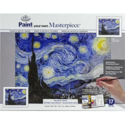 Obrázek Malířské plátno Royal Langnickel - Hvězdná noc, Vincent van Gogh