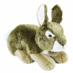 Obrázek plyšový králík hnědý, 25 cm