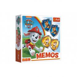 Obrázek Pexeso papírové Paw Patrol/Tlapková patrola společenská hra 36 kusů v krabici 20x20x5cm